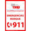 ECU 911 BLANCO