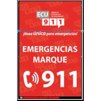 ECU 911 ROJA